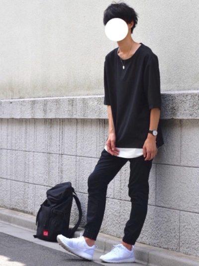メンズ必見!黒スキニーに合う靴のおすすめカラー3色!靴下は?